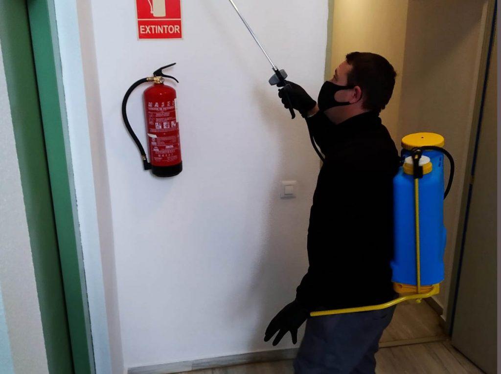limpieza desinfecciones comunidades sevilimp